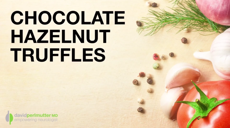 Chocolate Hazelnut Truffles – The Grain Brain Cookbook