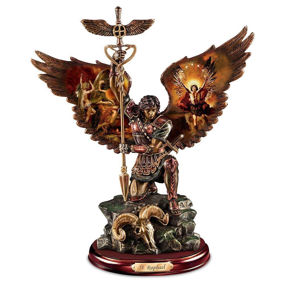 St Raphael Archangel Statue