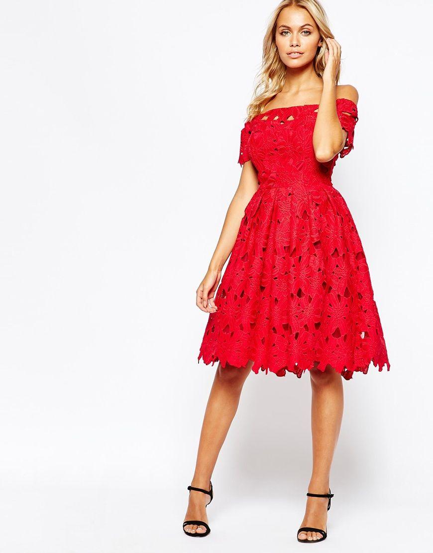 Image 1 of Boohoo Cut Work Lace Prom Dress | Perfect Dresses | Pinterest