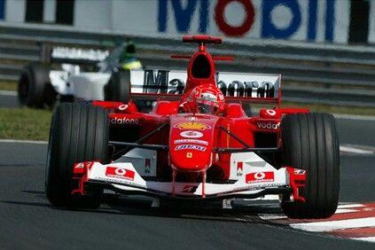 FERRARI  F2004                                          Tipo 053 3.0L  V10                              Michael Schumacher