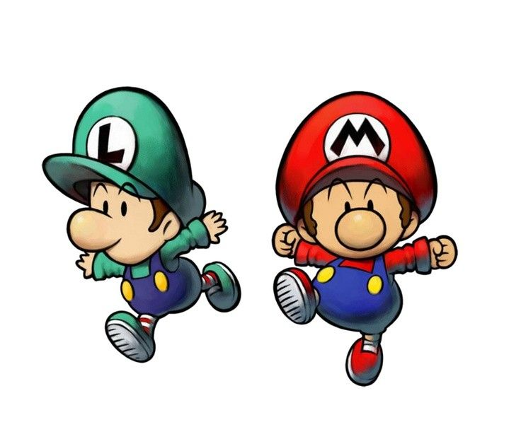 Baby Mario And Luigi Coloring Pages In 2020 With Images Mario And Luigi
