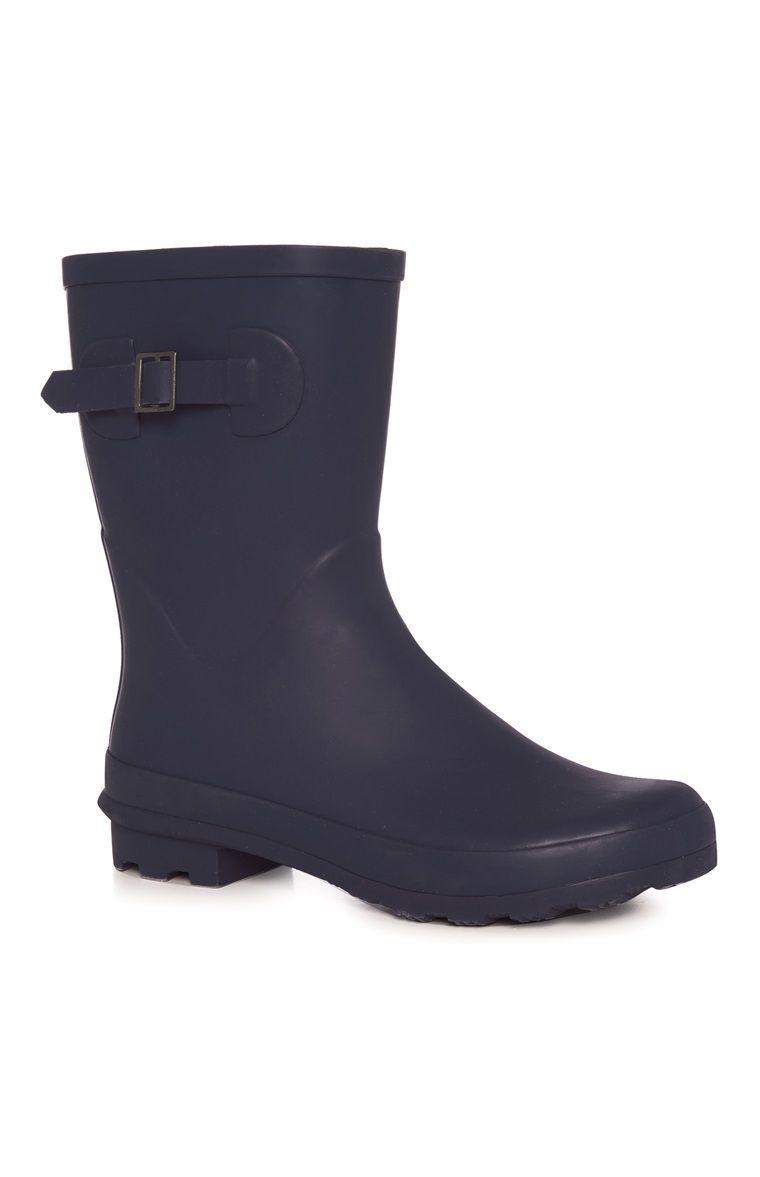 9e4db4801 Primark - Navy Matt Welly Boot | Wellies in 2019 | Boots, Wellies ...
