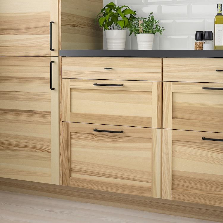 "TORHAMN Drawer front, natural ash, 24x15"" - IKEA in 2020 ..."