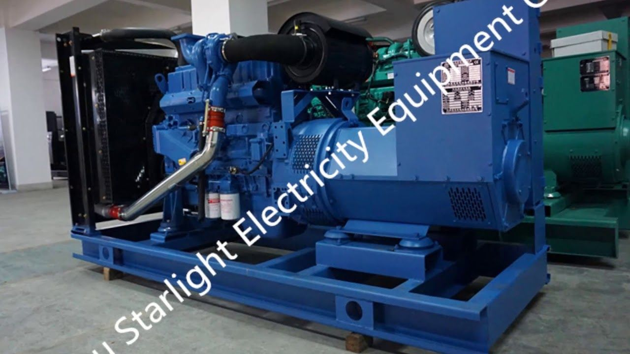 Yuchai Diesel Generator Is Chinese Brand Generator We Provide 22kw To 2420kw Power Diesel Generators With Yuchai Engine T Diesel Generators Generation Diesel