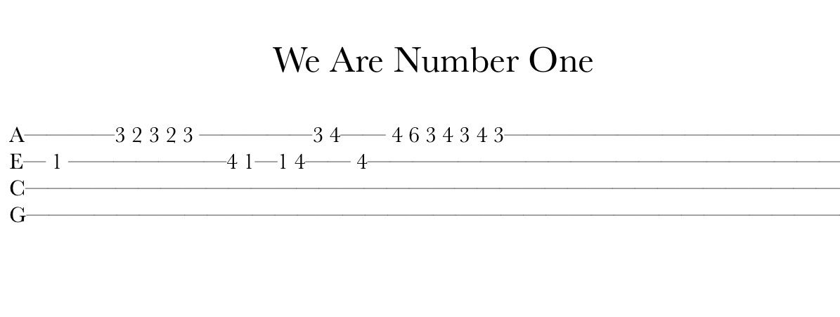 this is awful i love it we are number one ukulele tab ukulele