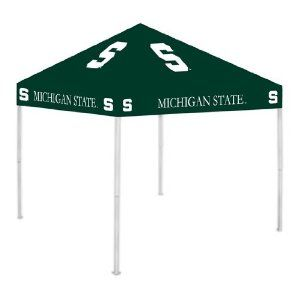 Michigan State Spartans Tailgate Tent Canopy - Canu0027t forget this as a gift for the boy  sc 1 st  Pinterest & Tailgate canopy $231.63 | Tailgate Time! | Pinterest | Tailgating ...