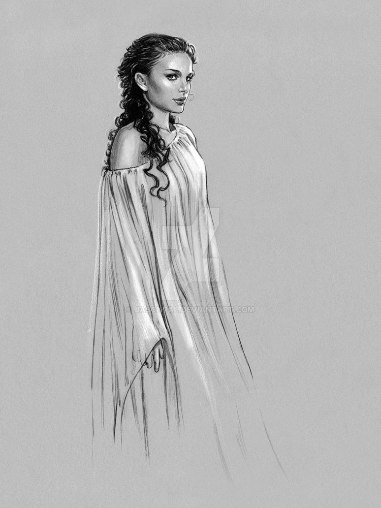 c6bb067bc9 Padme -Sleeping Gown by jasonpal on DeviantArt