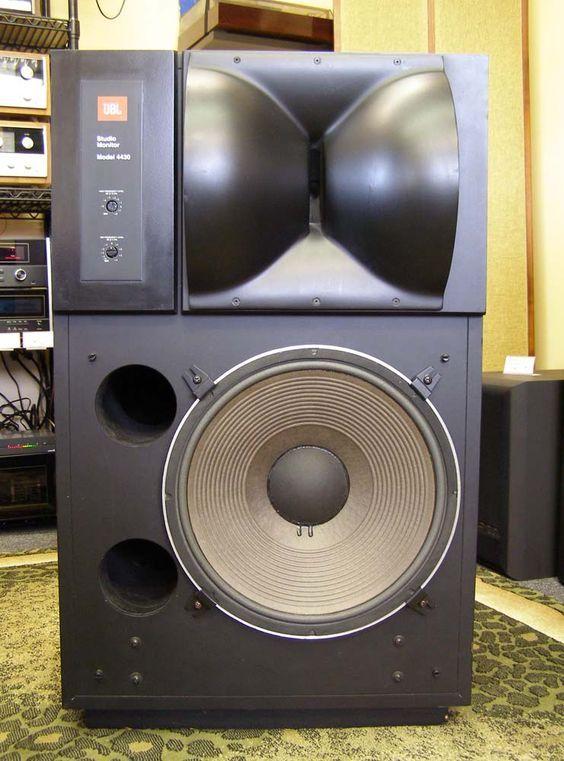 JBL 4430 Studio Monitor Speakers | audio hifi eargasm | Monitor