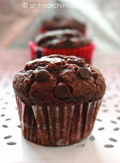 L'Antro dell'Alchimista: Tortine quasi Muffins al Cioccolato - Chocolate Muffins