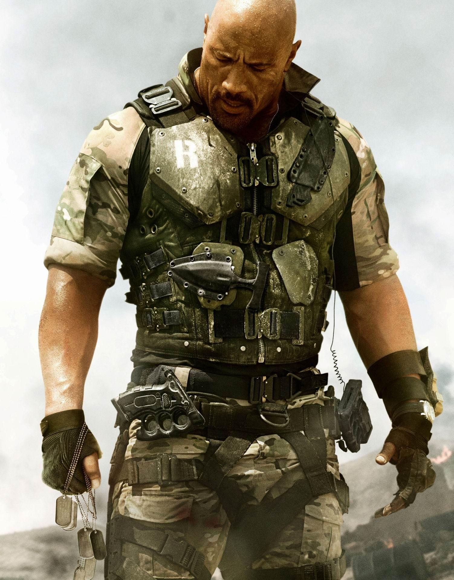 G I Joe Retaliation Movie Promo Con Imagenes Gi Joe Dwayne