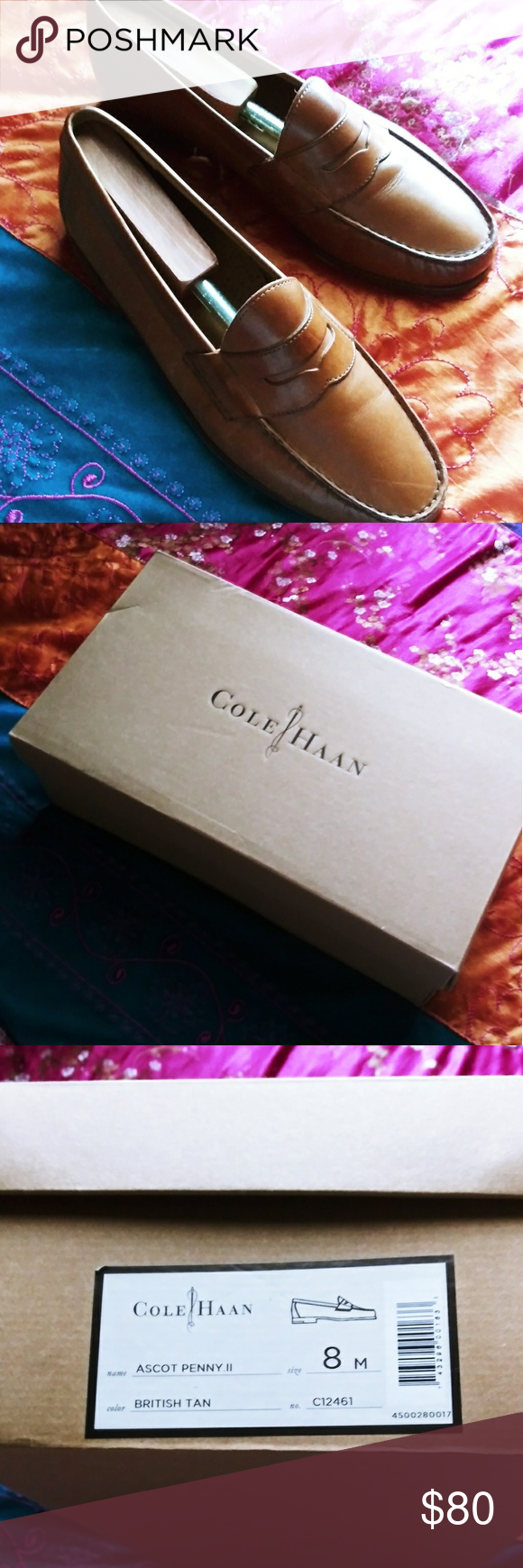1f41e5fbca9 Cole Haan Ascot Penny II These have been worn a few times but are in  excellent