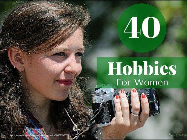 Hobbies for old ladies