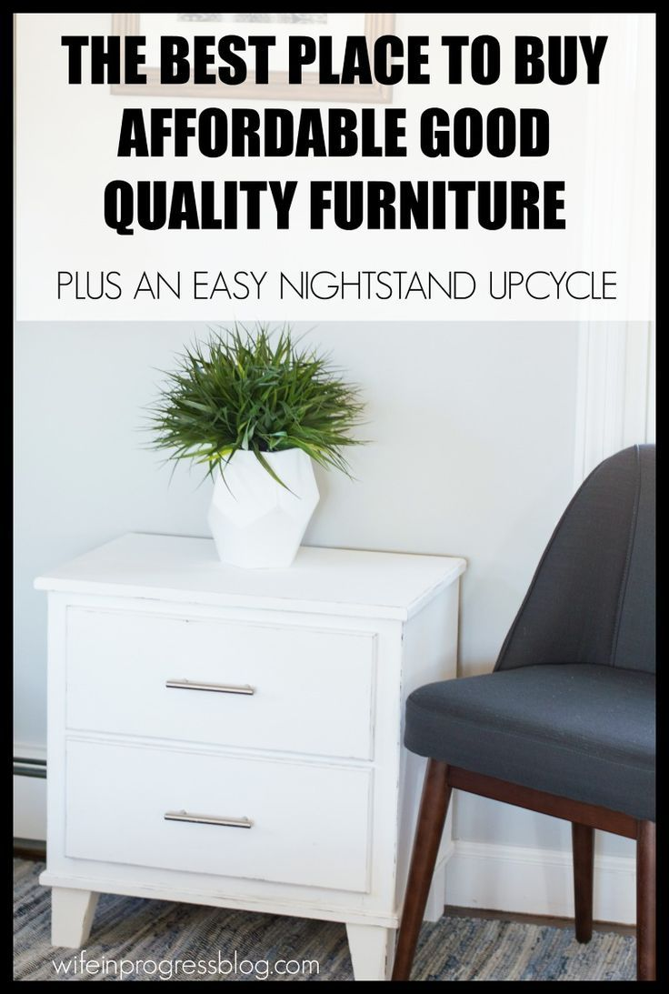 Where I buy affordable, high quality furniture that I can then upcycle for my own style preferences.#sponsored