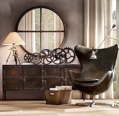 objet deco vintage industriel. Black Bedroom Furniture Sets. Home Design Ideas