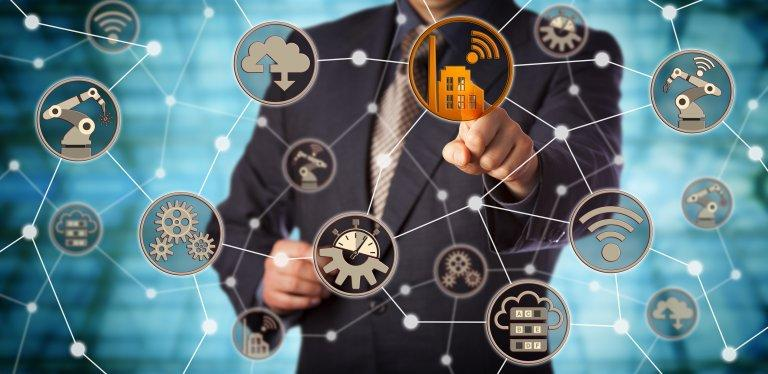Digital Transformation In Utility Market To Undertake Strapping Growth By The End 2027 Deloitte Us Mcki Factory Icon Marketing Trends Digital Transformation