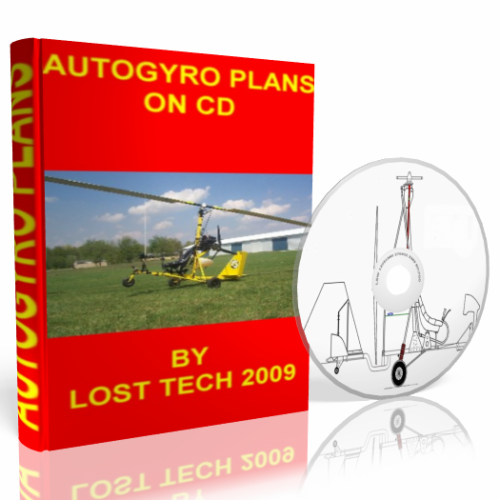 Build Your Own Ultralight Gyrocopter 7 Different