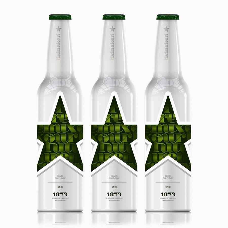 Heineken Bottle Concept