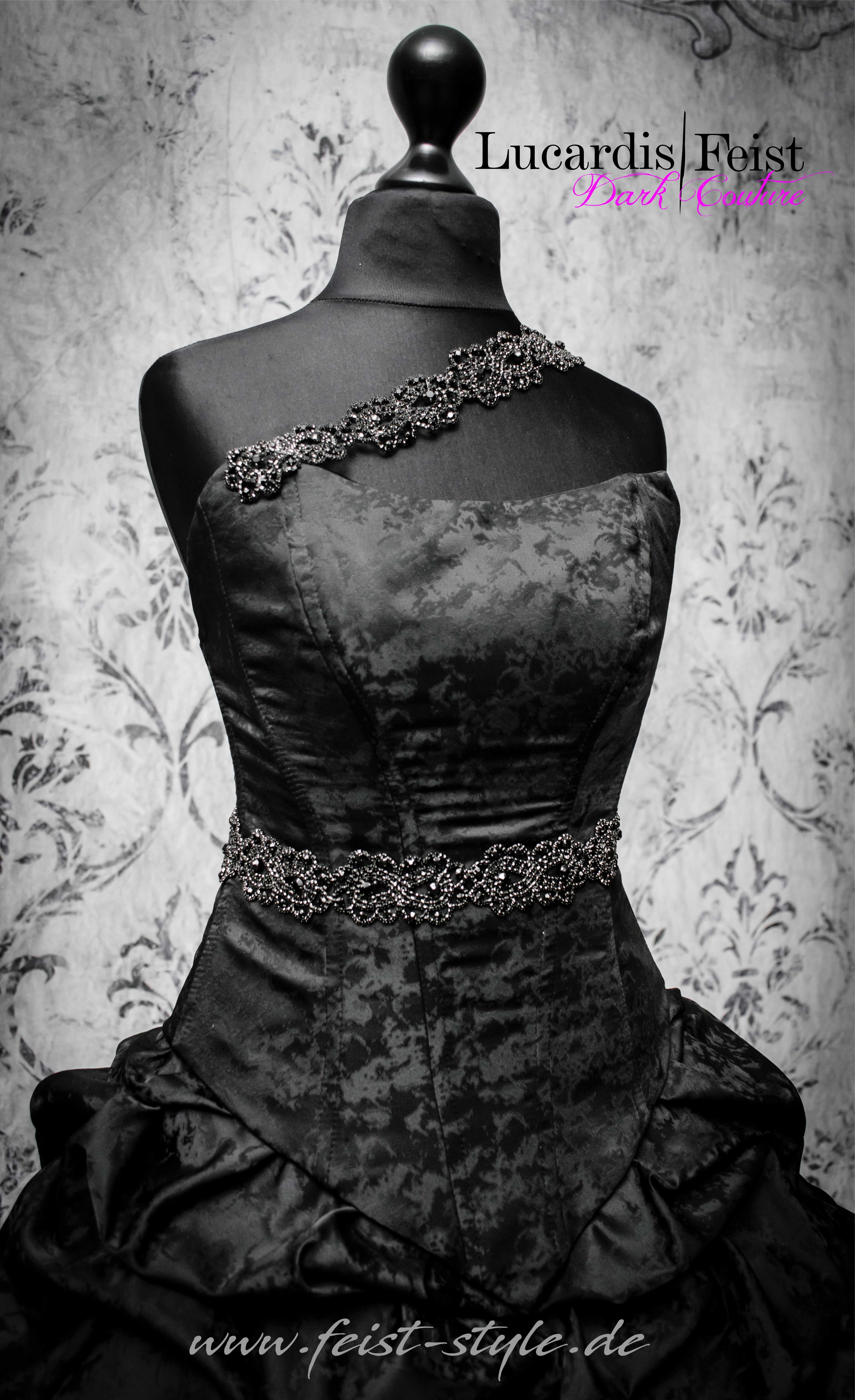 Schwarzes Hochzeitskleid? Das Original von Feist Style  Schwarzes