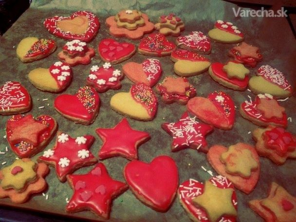 Vanilkové keksíky