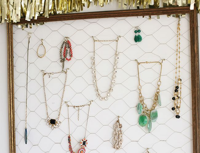 DIY Jewelry Organizer Inspired by This Style Blog Diy jewelry
