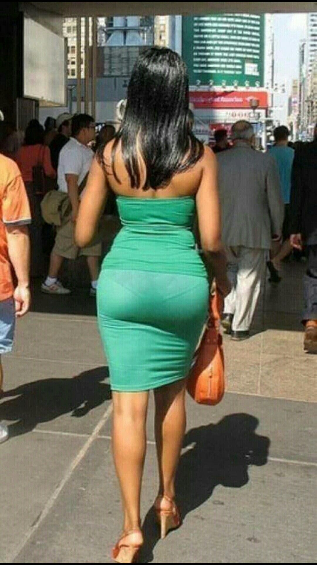 If a girl wears tight pants, then does that mean she is trying to show her big butt