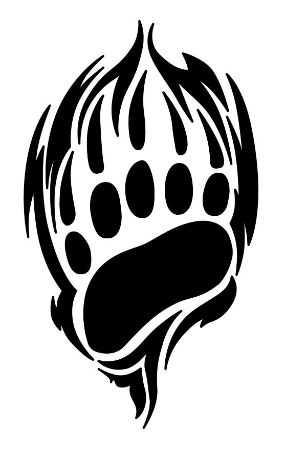 Bear claw tattoo by on deviantart for Black claw tattoo