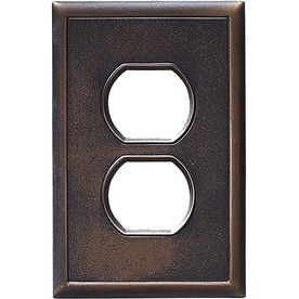 Somerset Collection Somerset 1 Gang Oil Rubbed Bronze