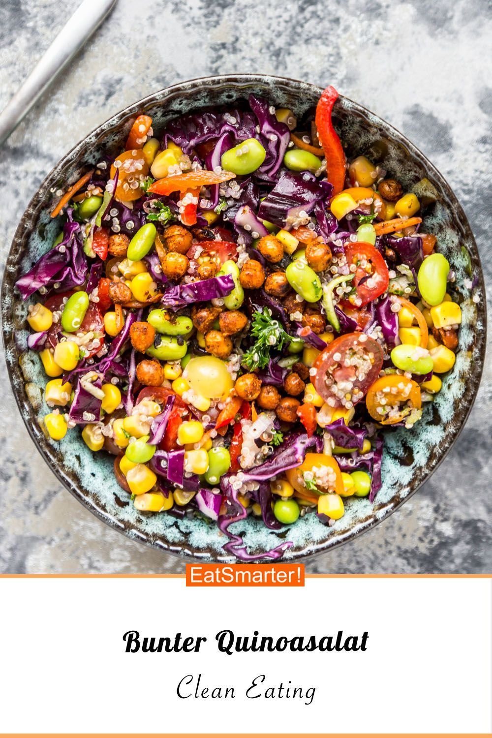 Bunter quinoa salad -  Bunter Quinoa Salad – Smarter – Calories: 523 kcal – Time: 35 Min. |