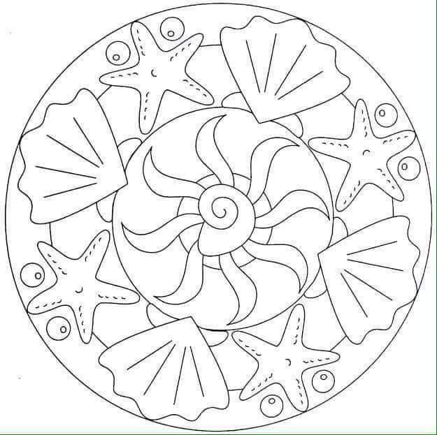 Pin by Katerina Gounara on summer   Mandala coloring ...