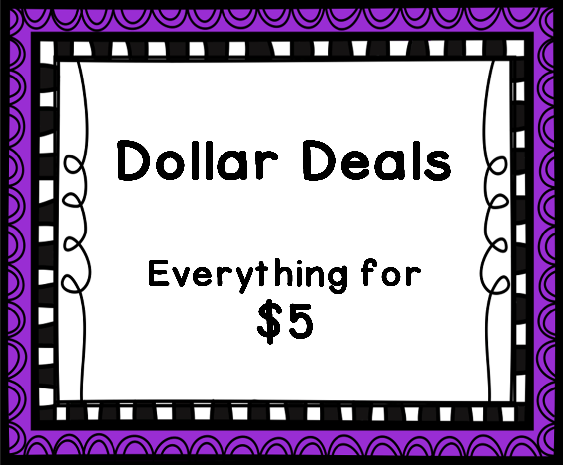 Dollar Deals Everything For 5 Resources For Educators