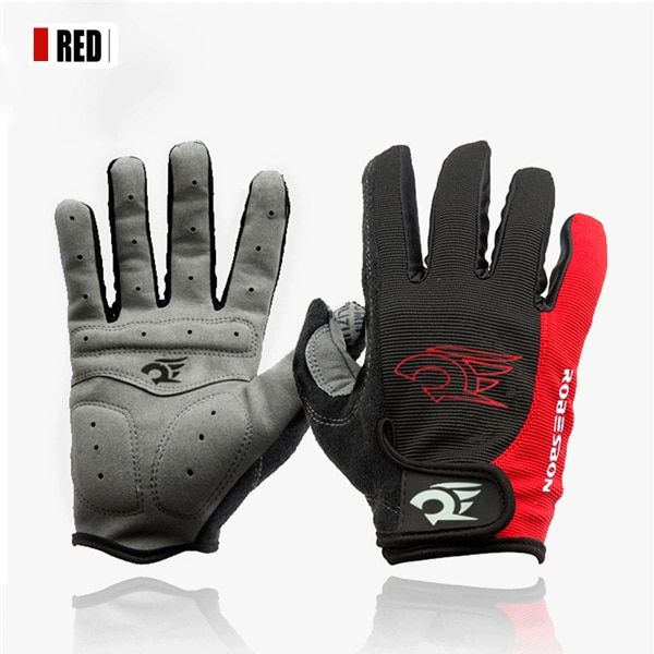 Winter Warm Gel Padded Glove Cycling Gloves Full Finger Mountain Bike Bicycle