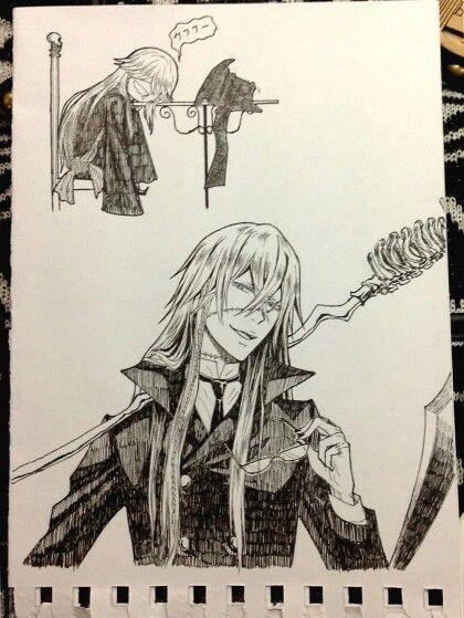 Black Butler ~~ Dreamer, Schemer, Reaper ::: The Undertaker