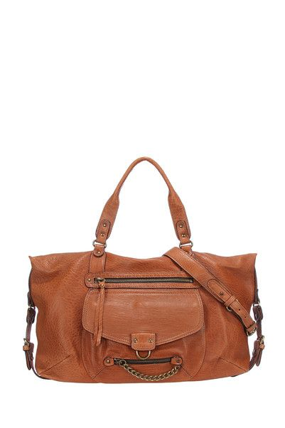 b076b71e2f23d Sac ODELIA en cuir Bubble made in France Camel Abaco sur MonShowroom ...
