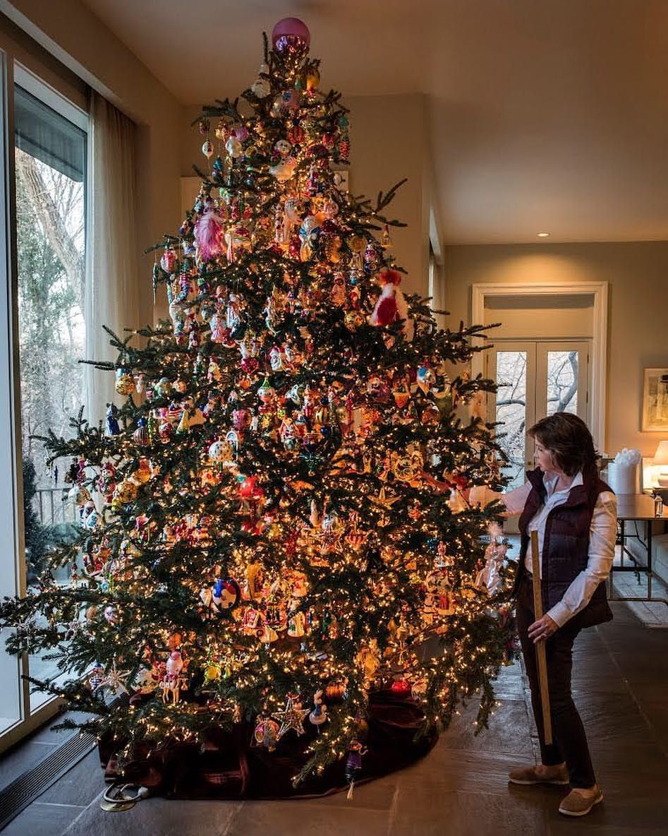 This is not your grandma's Christmas tree. For one thing