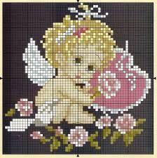 Картинки по запросу вишивка хрестиком схеми ікони янголи  06e8ba4ca57e6