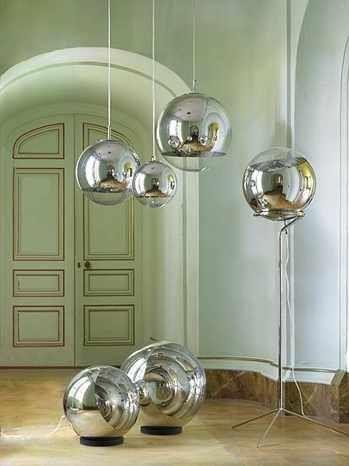 Mirror Ball Pendant By Tom Dixon Ball Pendant Lighting Mirror Ball Tom Dixon