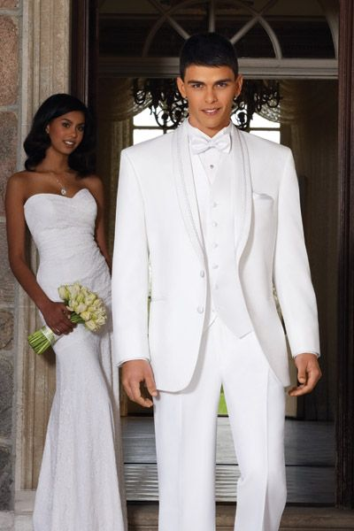 white prom dress what color tux