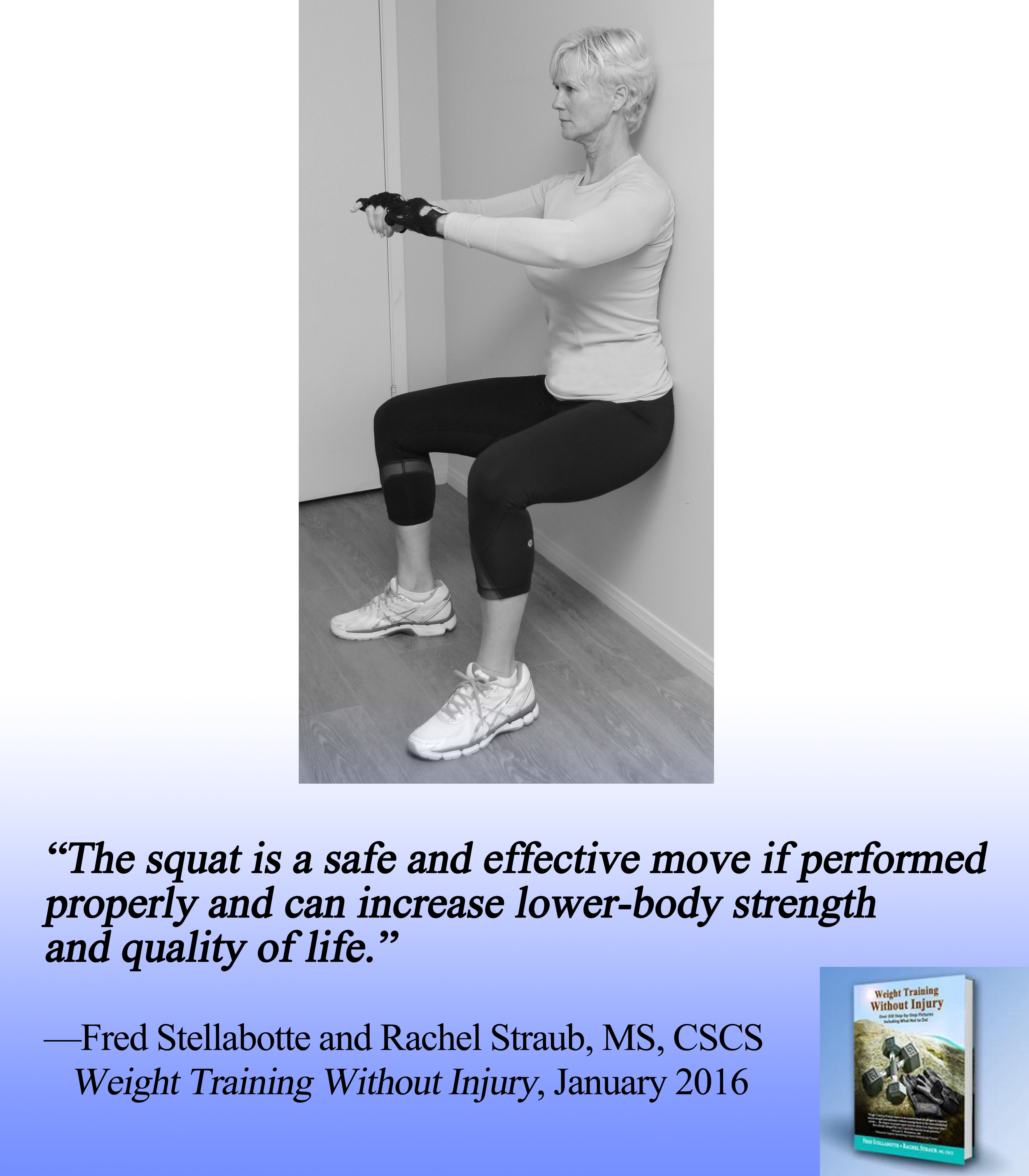 """""""The squat is a safe and effective move if performed"""
