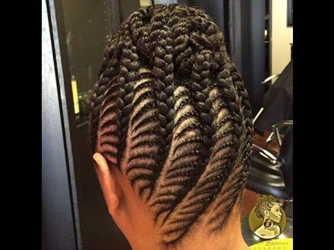 Natural hairstyles cornrows for kids