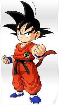 Goku Kid Poster Anime Dragon Ball Super Dragon Ball Art Anime Dragon Ball