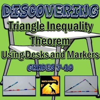 Triangle Inequality Theorem Inquiry Based Discovery Triangle Inequality Theorems Inequality