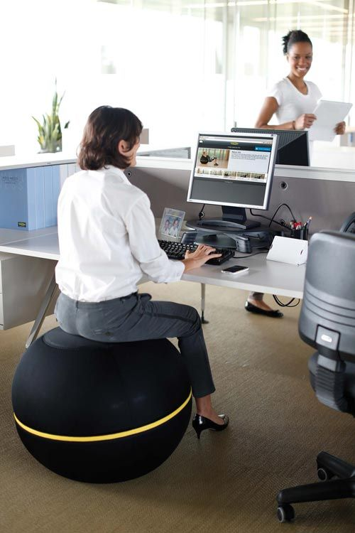 A Medicine Ball Chair To Get Relaxed Picadil Com Oficinas