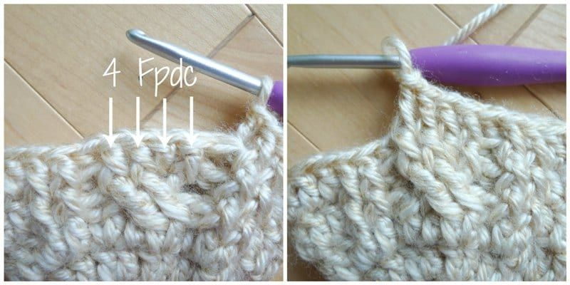 Crochet Cabled Mittens Crochet Cable Crochet Mittens