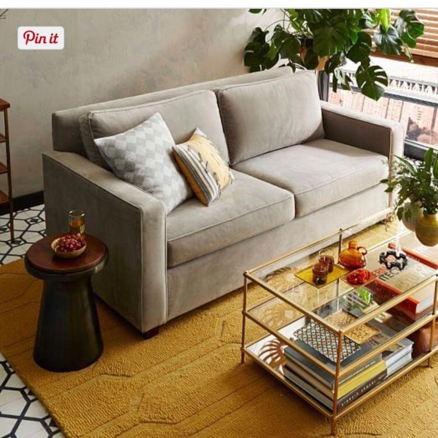 West Elm Gray Sofa Letgo Com West Elm