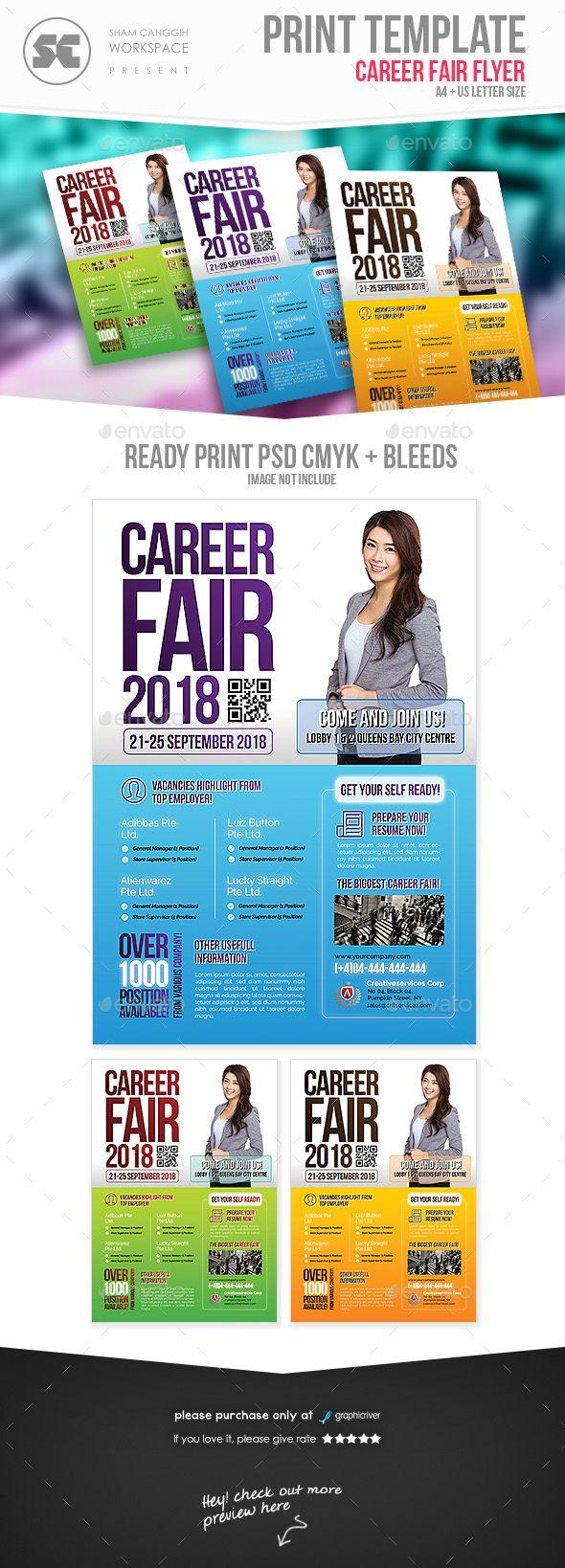 Career Fair Flyer Template PSD | Flyer Templates | Pinterest