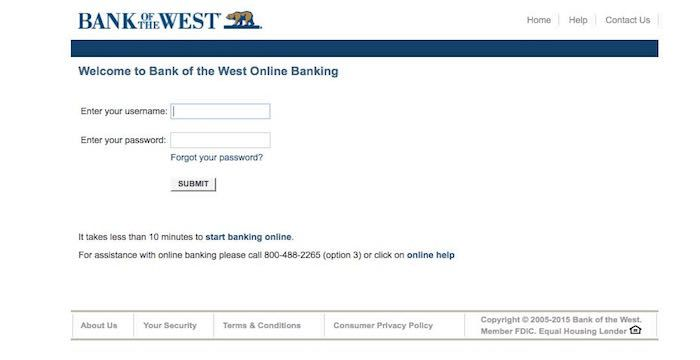 Bank of the West Bill Pay Online, Login, Customer Service