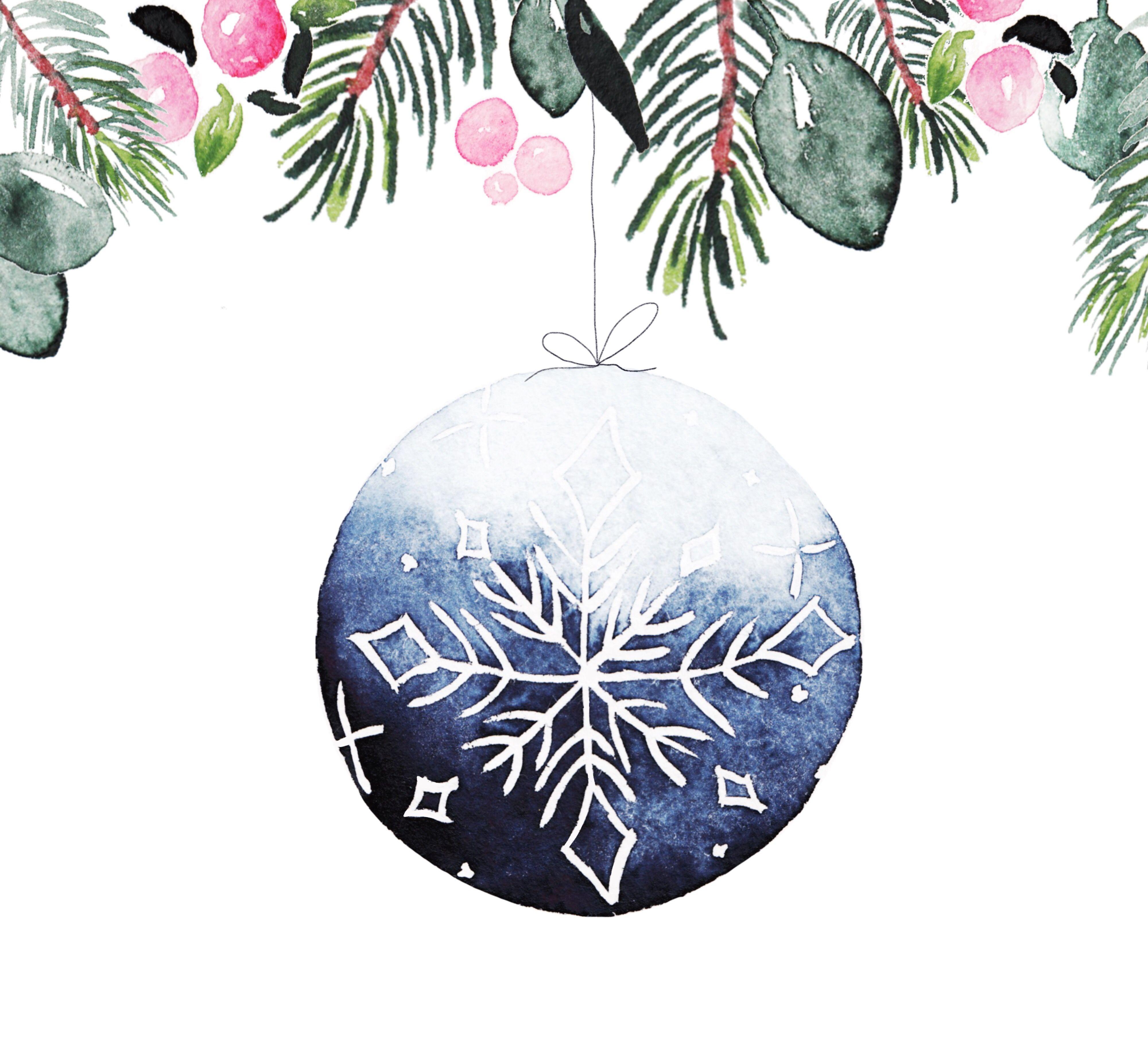 Aquarell Weihnachten Bild Von Lilly Auf Weihnachten Aquarell