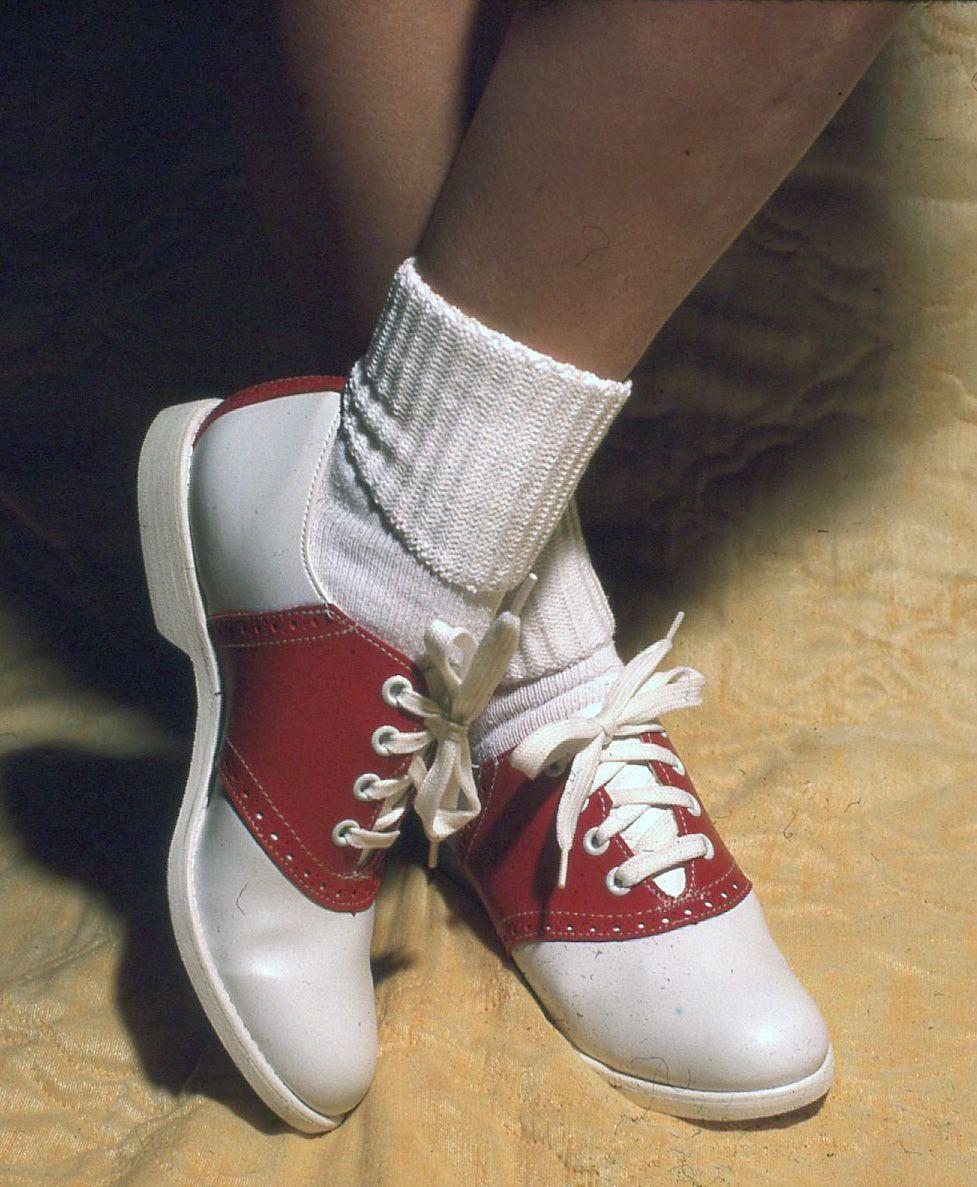 Saddle shoes, Saddle oxford shoes
