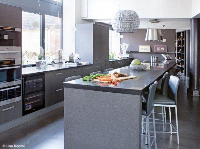 Cuisine loft cuisine et couleur Pinterest Cuisine loft, En