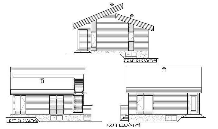 Plan 80774pm Contemporary Vacation Getaway House Plans